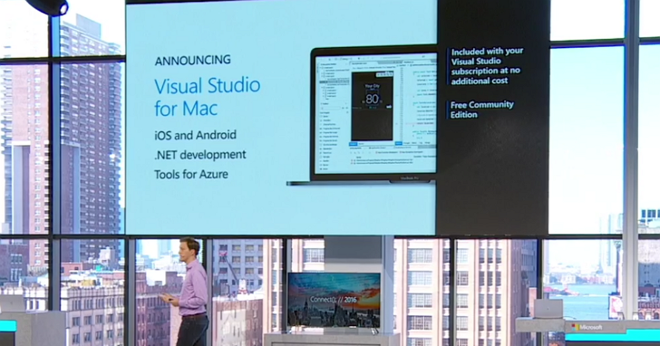 微軟發佈 Visual Studio 2017、 Visual Studio for Mac 及 Visual Studio Mobile center