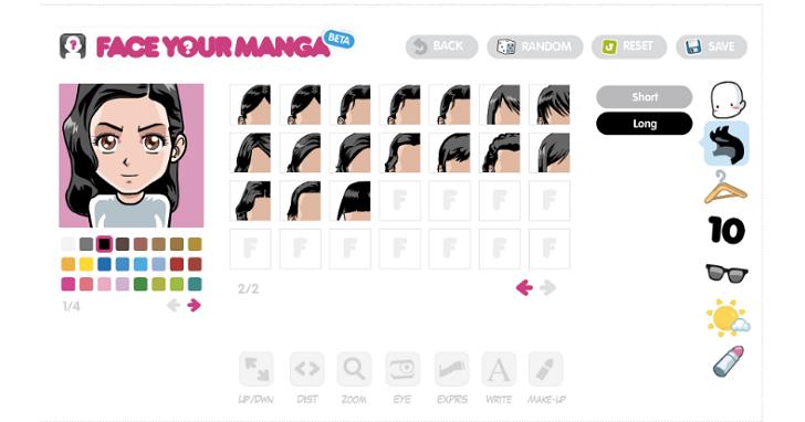 這12個網站,幫你創造不同風格的個人卡通肖像