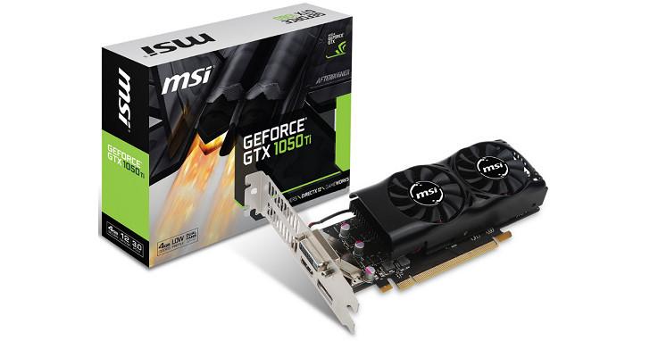 MSI 推出 GeForce GTX 1050 Ti 4GT LP 半高顯示卡,薄型電腦也能裝