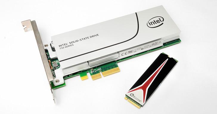 Intel vs. Plextor,PCIe 3.0 x4 NVMe 固態硬碟性能一致性友誼賽