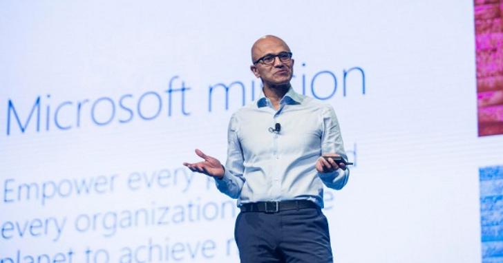 微軟 CEO 納德拉:一款產品失敗,並不該是員工職業生涯的污點