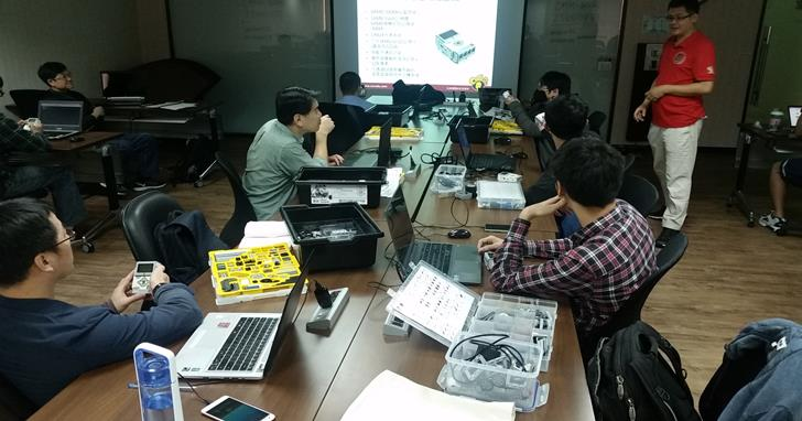 【課程花絮】11月12日樂高EV3機器人實作坊