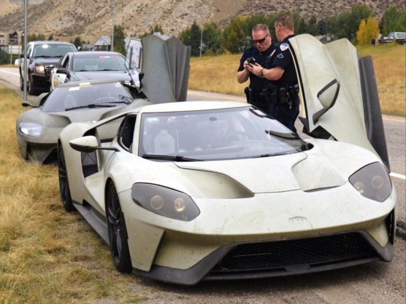 人帥真好? 三輛 二代目Ford GT原型車在美國公路試車超速遭開單,事後罰單卻自動取消?