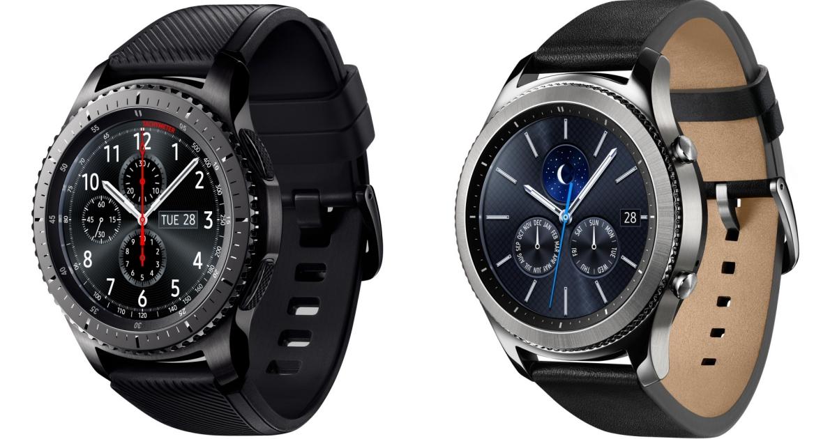 三星推出 Gear S3 圓形智慧錶,具通話功能、內建 GPS,售價 12,500 元