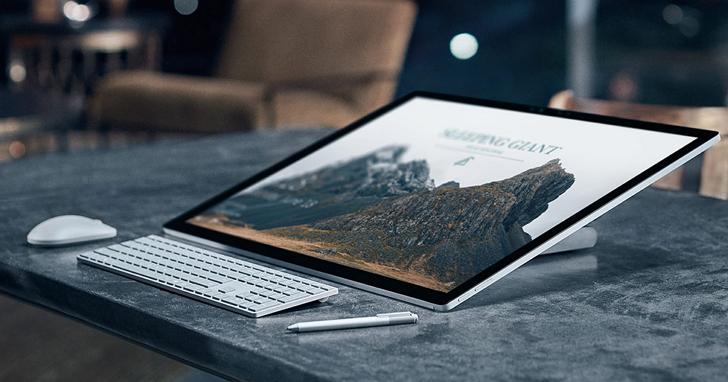 微軟新AIO主機 Surface Studio 首拆,優雅外觀下的強勁之心