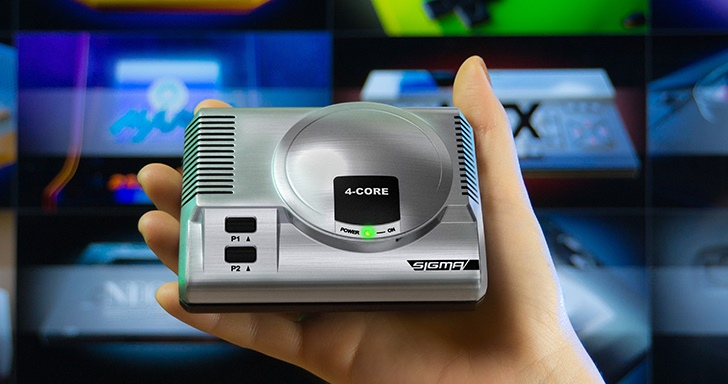 RetroEngine Sigma迷你懷舊主機,暢玩近30種平台遊戲