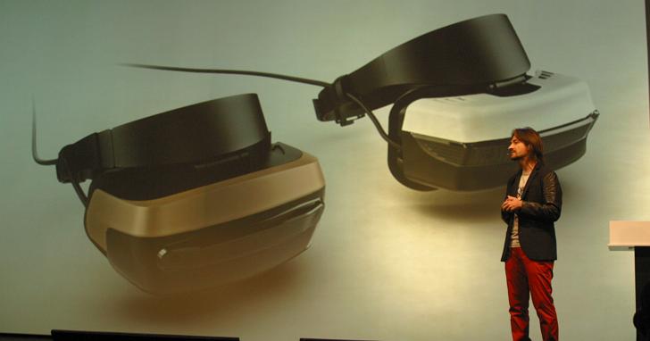 微軟 HoloLens 發明人Alex Kipman說明混合實境裝置的優勢,以及新的混合實境裝置合作夥伴