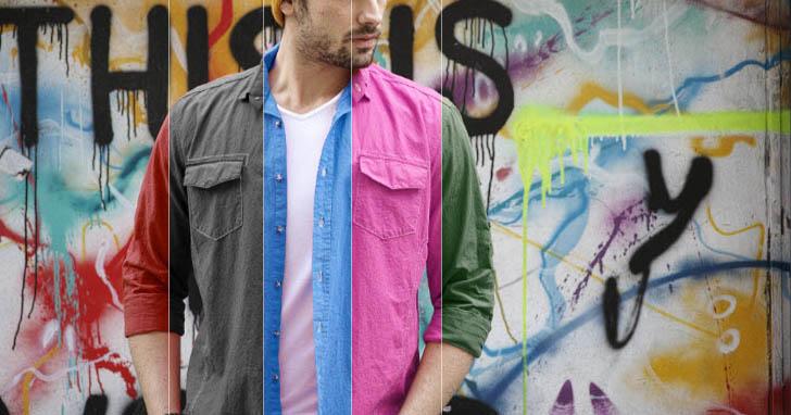 【Photoshop技巧實戰】用色相/飽和度改變商品顏色