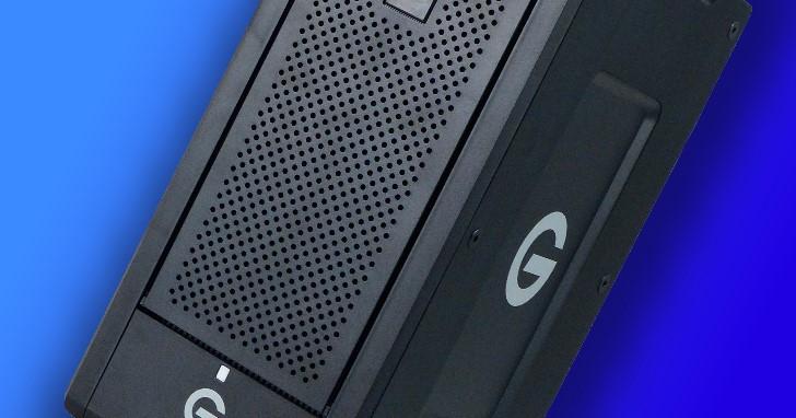 G-Technology G-SPEED Shuttle XL,創意工作者的移動硬碟軍火庫