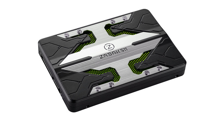 ZADAK Lab 釋出 Zadak511 固態硬碟產品訊息,RGB LED 燈光效果任你調整