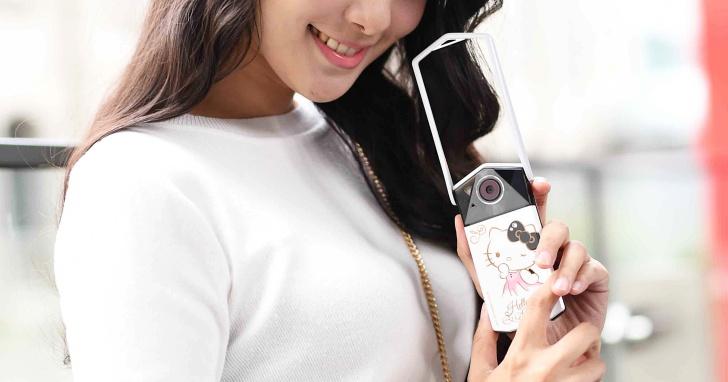 自拍神器遇上 Kitty 與施華洛世奇,Casio 推出 TR-70 Hello Kitty 精裝限量組