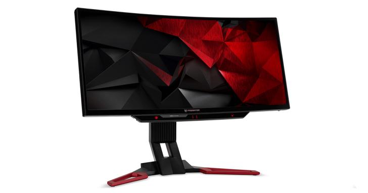 眼球追蹤與曲面螢幕結合,Acer 推出為玩家打造的 Predator Z301CT 電競螢幕