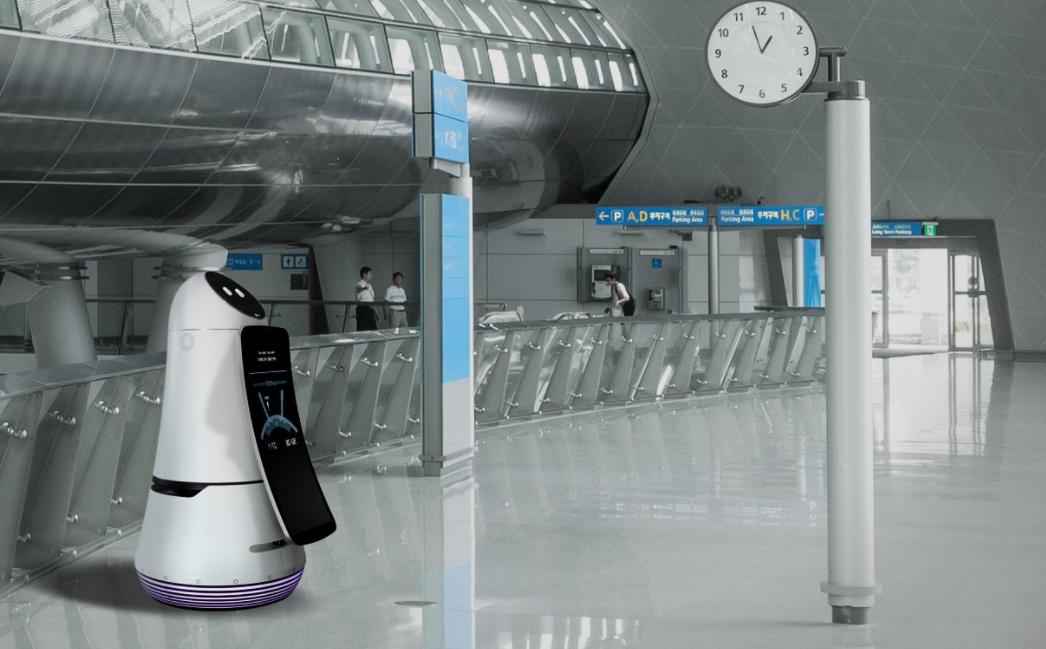 CES展場上 LG 推出了一整個「機器人家族」,全面採用Amazon Alexa 語音智慧