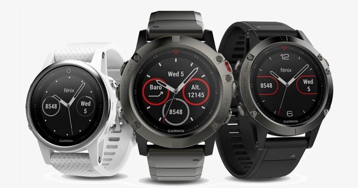 小手腕的人有福了,Garmin 推出三種尺寸的 Fenix 5 系列智慧錶