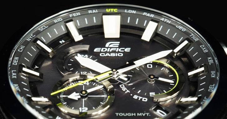 CASIO打造功能完備,兼具完美紳士形象的必備單品:EDIFICE EQW-T640YDB-1A 功能特色介紹!