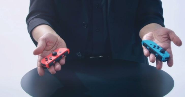 任天堂Switch Joy Con控制器大解析,多種模式搭配動態感應與HD震動新技術