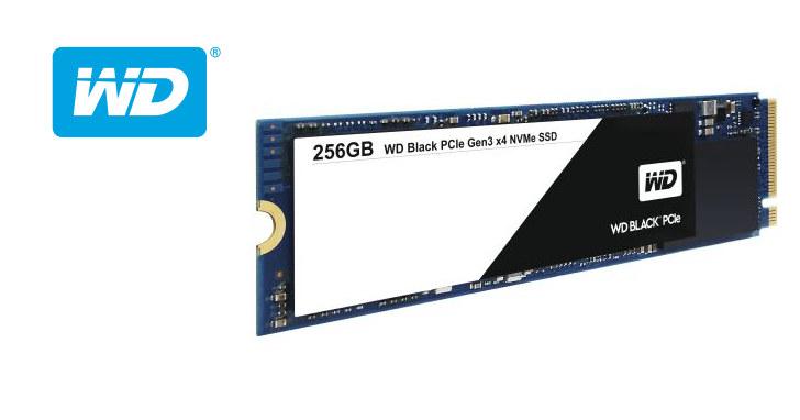 價格導向 NVMe 固態硬碟,WD Black PCIe SSD 將於 2 月中出貨
