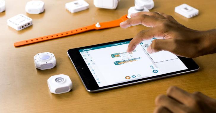 Plezmo可程式化數位積木,讓小朋友親手打造物聯網裝置