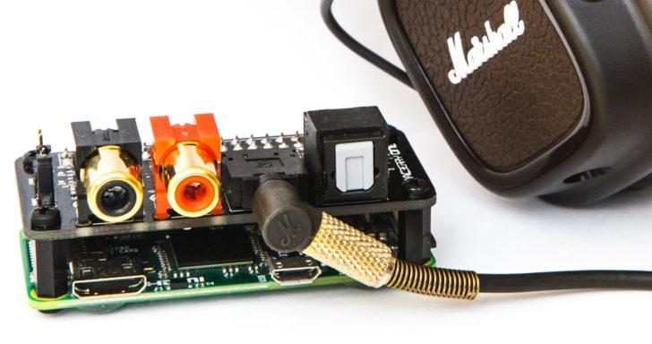 樹莓派也有專用音效卡:DACBerry ONE,支援外部DAC解碼提升音質