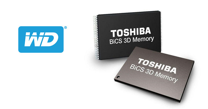 時隔半年容量倍增,WD 發表 512Gbit 容量 64 層堆疊 3D NAND