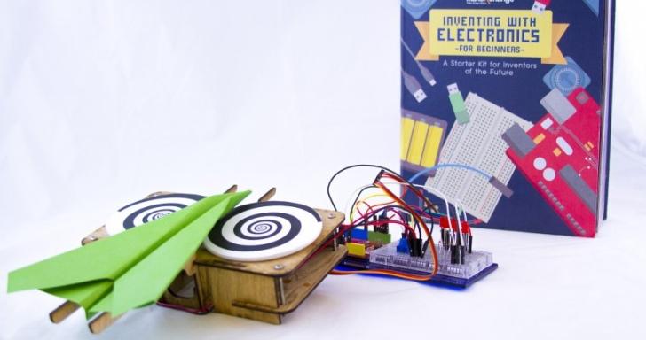 這本書可以讓你做出紙飛機發射器等電子裝置