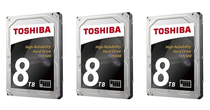 8TB NAS 硬碟時代來臨,Toshiba 推出 N300 內接式 3.5 吋硬碟