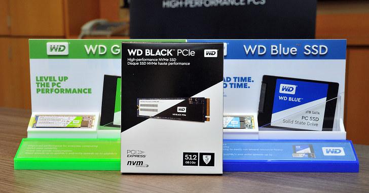 WD Black PCIe SSD 台灣售價公布,將於 3 月上市銷售