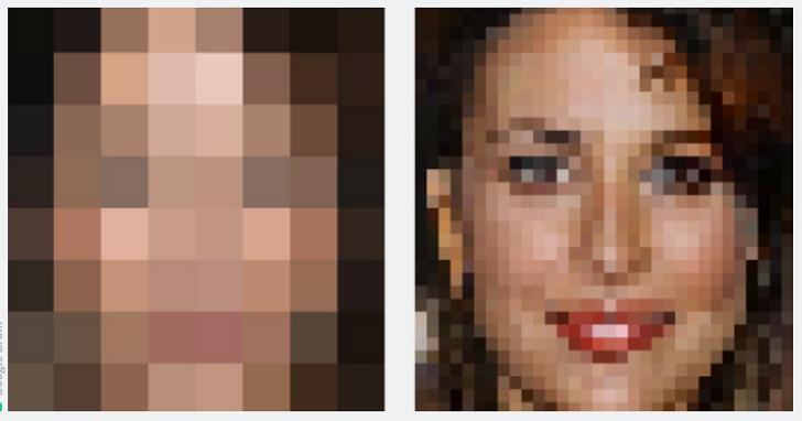 Google的人工智慧又學了新技能:把模糊臉孔變清晰,男性「騎兵變步兵」的終極夢想看來也不遠了