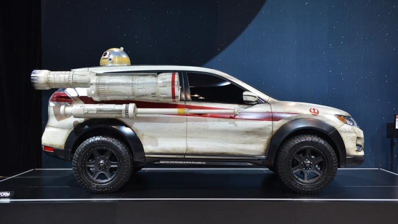 這輛Nissan Rouge可不是Rouge One,芝加哥車展 Nissan再向星際大戰致敬!