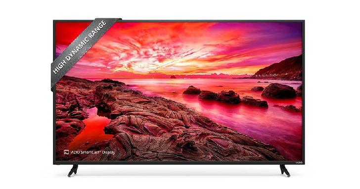 強調CP值的 Vizio ,新推出一款 4K HDR 智慧電視僅要價 550 美元起