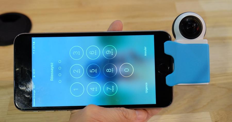 Giroptic iO 推出 iPhone 用超可愛 360 鏡頭,還可做直播用