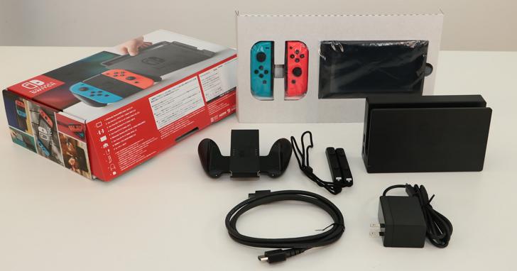任天堂Switch開箱:平板主機功能、介面設定以及電視連接模式怎麼用?
