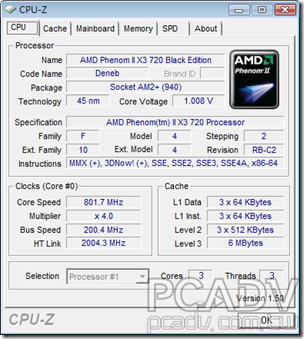 CPU-Z 1.50正式版釋出下載