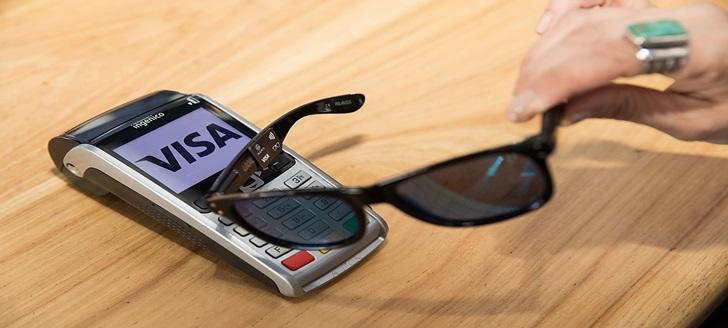 手機支付不夠看!Visa 的未來 NFC 行動支付工具是太陽眼鏡