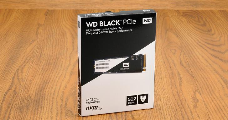 經典黑標之名 PCIe NVMe 固態硬碟,WD Black PCIe SSD 性能實測