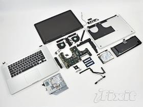 2011年第一炮,MacBook Pro 15 拆解照