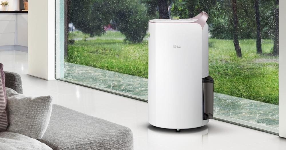 梅雨季必備,LG 推出除濕、乾衣、烘鞋、烘衣櫃四用變頻除溼機