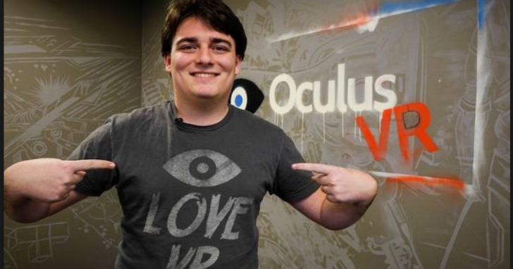 Facebook宣示要大舉進軍VR,但同時 Oculus 聯合創始人帕爾默·拉奇卻黯然從Facebook 離職
