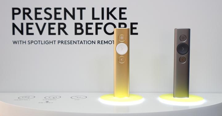 羅技推出 Spotlight 簡報筆,提供亮點顯示、區域放大和游標切換功能