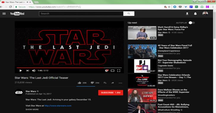 Youtube 也有黑暗面?!馬上開啟「夜間模式」輕鬆不傷眼 | T客邦