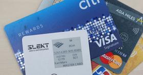 一張卡直接記錄多張信用卡號,台灣新創可隨時切換的超殺信用卡 Slekt