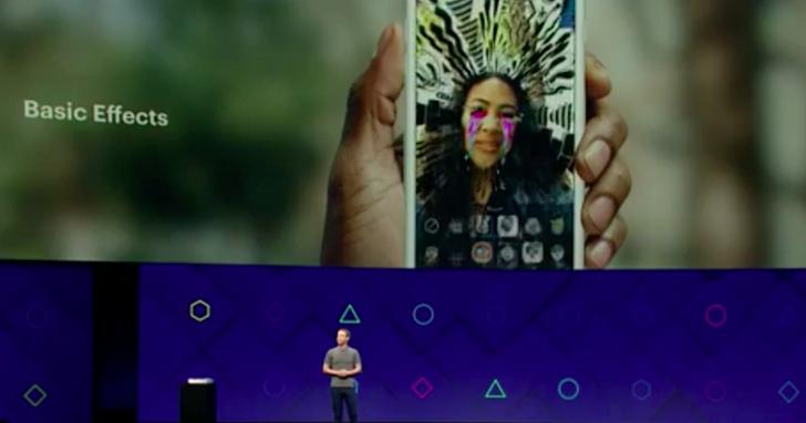 Facebook F8 大會展示新開發平台Camera Effects,特效與AR將是今年臉書相機上的重頭戲