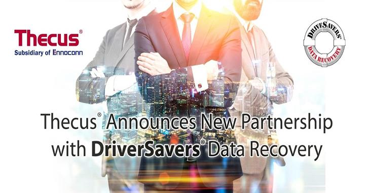 Thecus 將與新夥伴 DriverSavers 提供客戶更完善的資料救援服務,DriveSavers 提供全球專業資料救援服務!