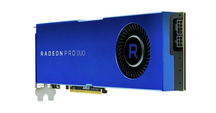 雙 Polaris 10 GPU,2017 版 AMD Radeon Pro Duo 登場
