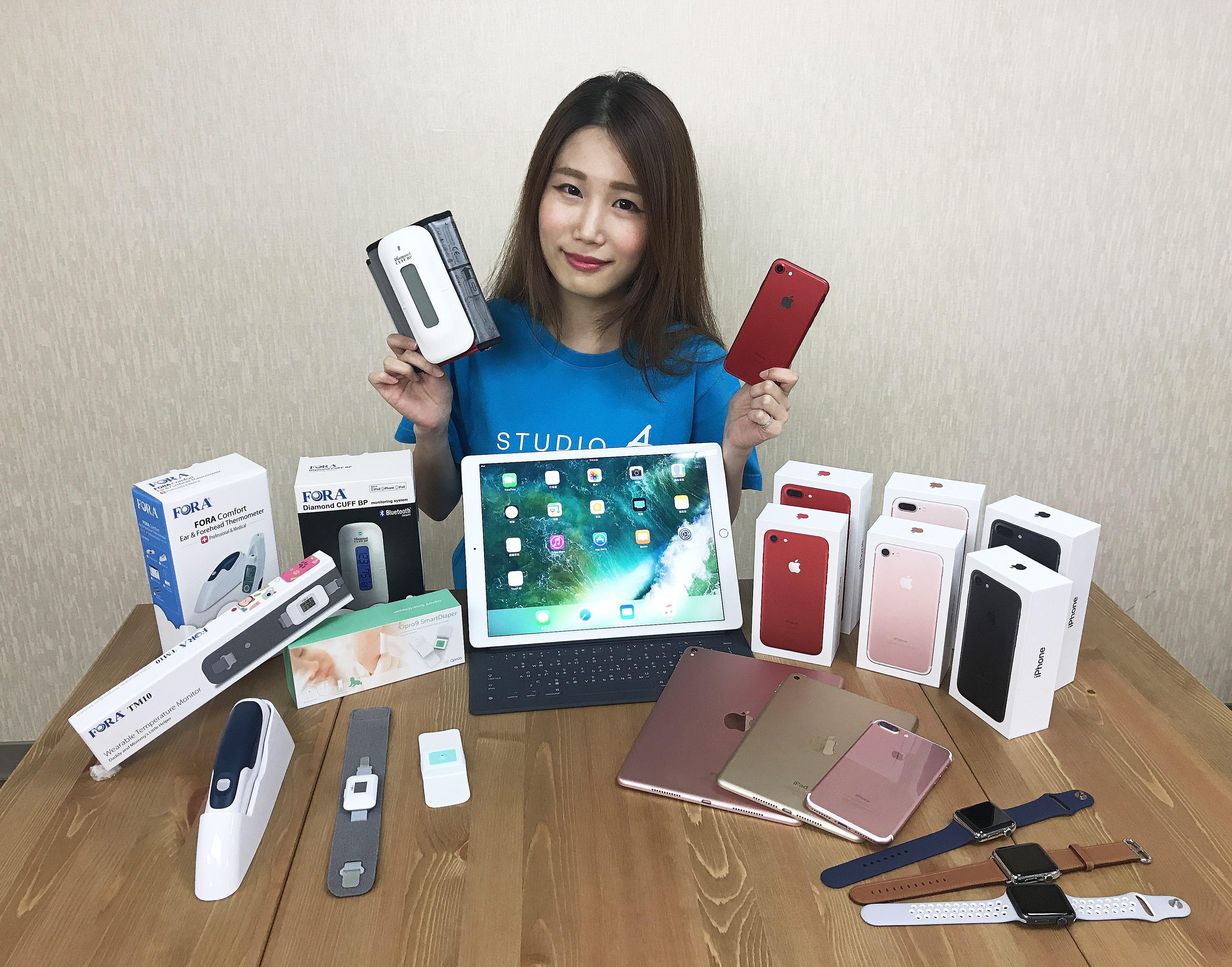 STUDIO A歡慶母親節 首推全台唯一Apple Watch安心意外保 買iPhone/iPad送智能血壓機