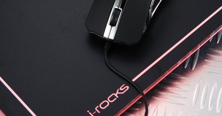 i-Rocks C13E/M20E- 多彩炫光滑鼠套裝