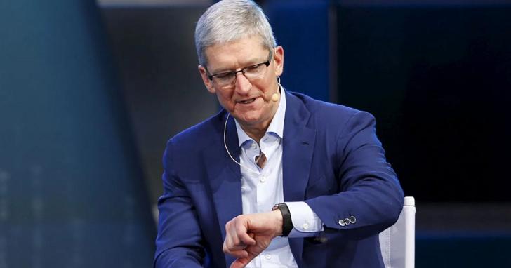 雖然Google地圖,亞馬遜取消支援Apple Watch,但是庫克說Apple Watch賣得超好