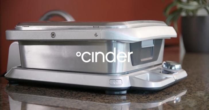 想吃牛排卻烤不好?Cinder智慧型烤爐幫你精準控制火侯