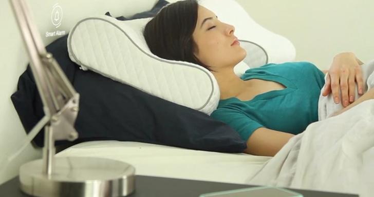 Sunrise智慧型枕頭不但助你好眠,還會溫和叫你起床