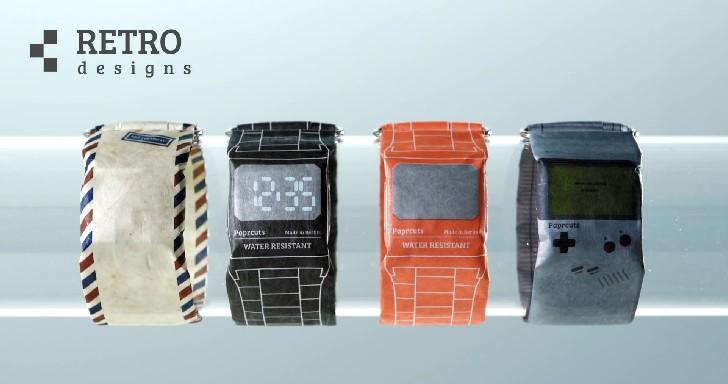 紙做的手錶! PAPR Watch手錶雖然不聰明,但是很時尚
